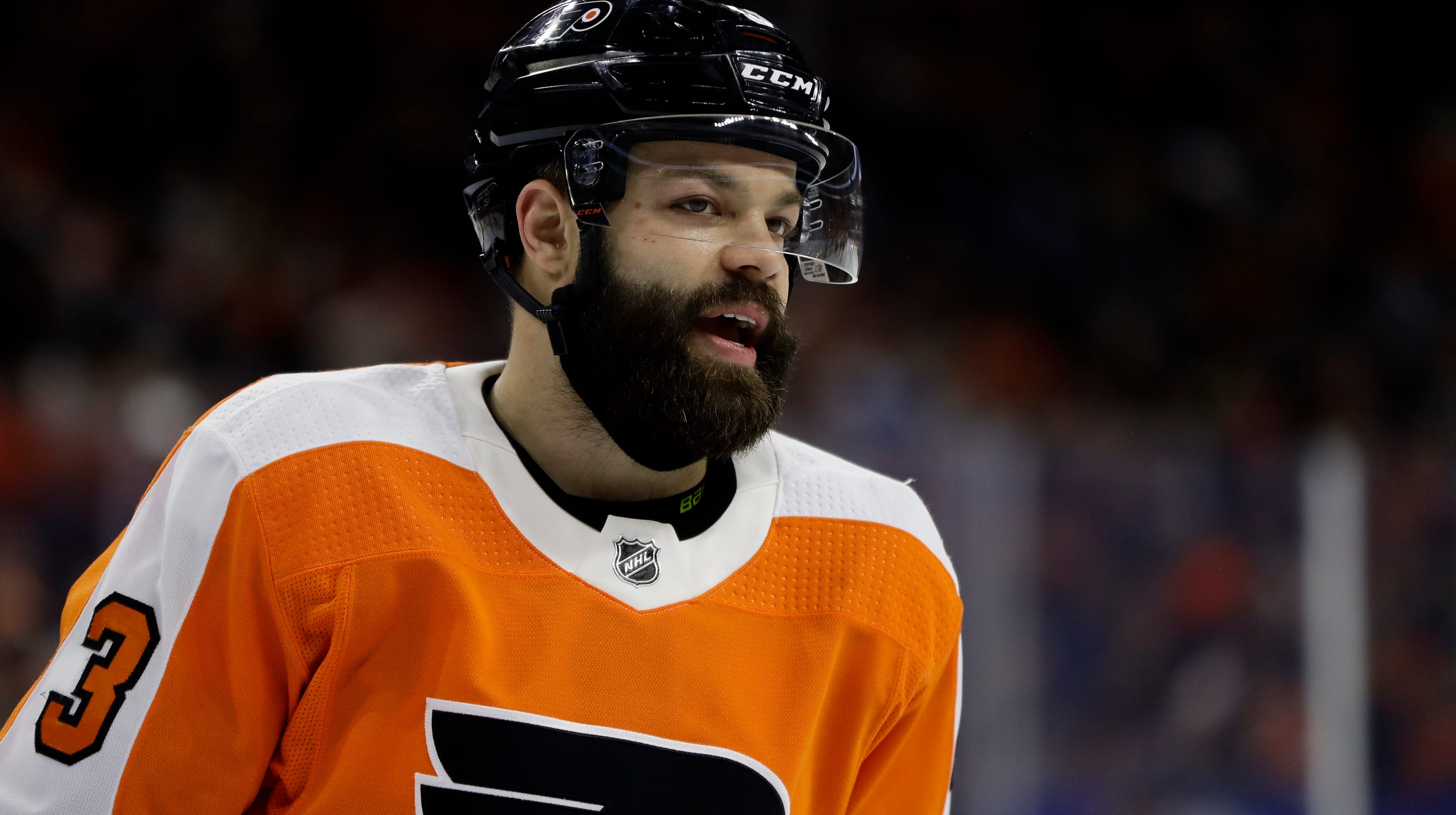 brand new 6004d 274d7 Flyers' Radko Gudas suspended two games for high-sticking