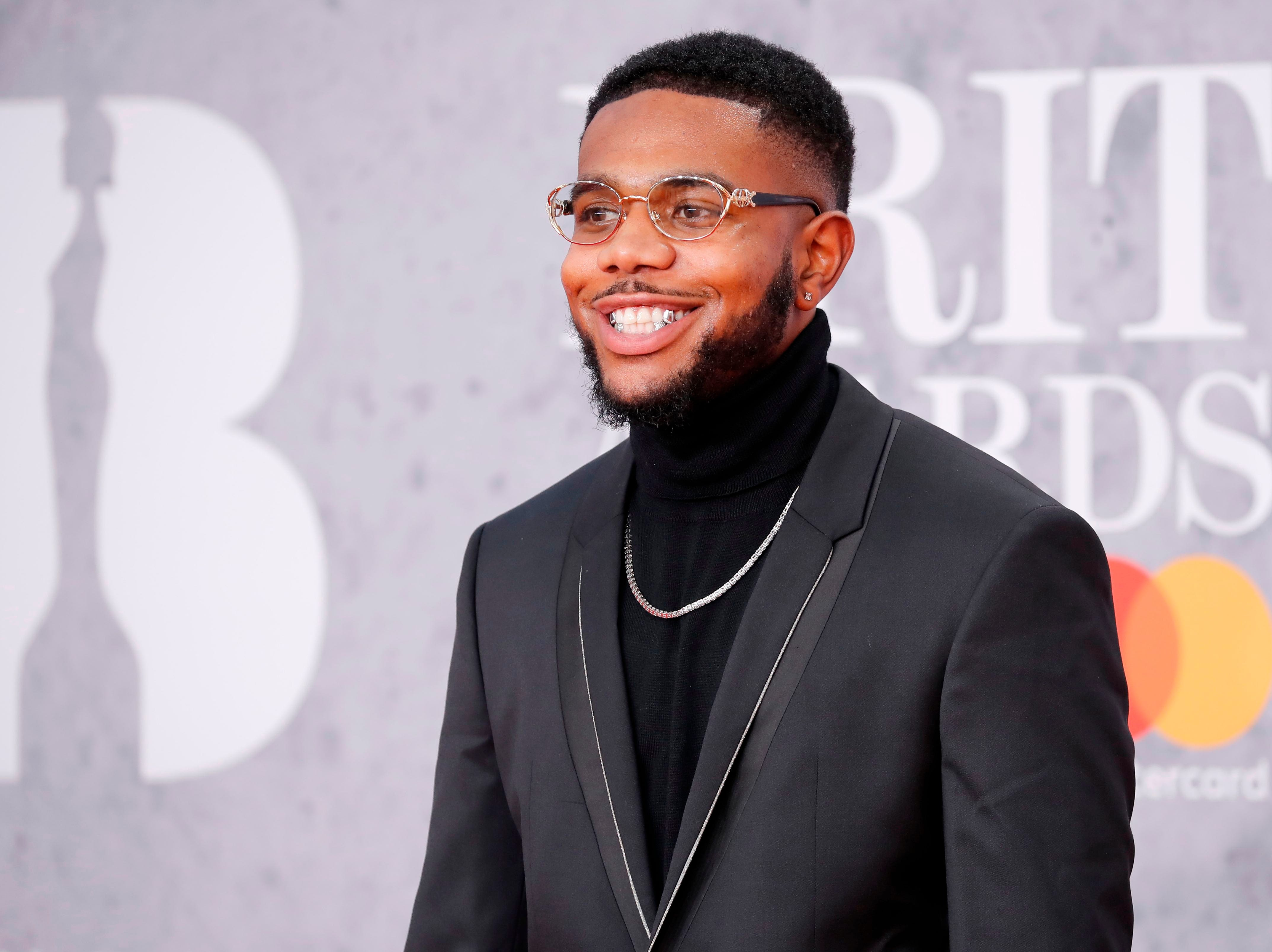 British rapper Ramz poses on the red carpet on arrival for the BRIT Awards 2019 in London on February 20, 2019. (Photo by Tolga AKMEN / AFP) / RESTRICTED TO EDITORIAL USE  NO POSTERS  NO MERCHANDISE NO USE IN PUBLICATIONS DEVOTED TO ARTISTSTOLGA AKMEN/AFP/Getty Images ORIG FILE ID: AFP_1DO08J