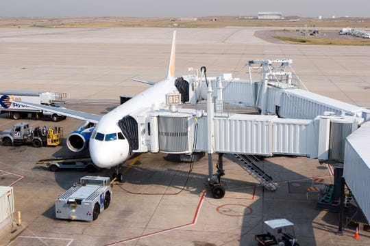 Worker at California's John Wayne Airport dies when jet bridge tire explodes