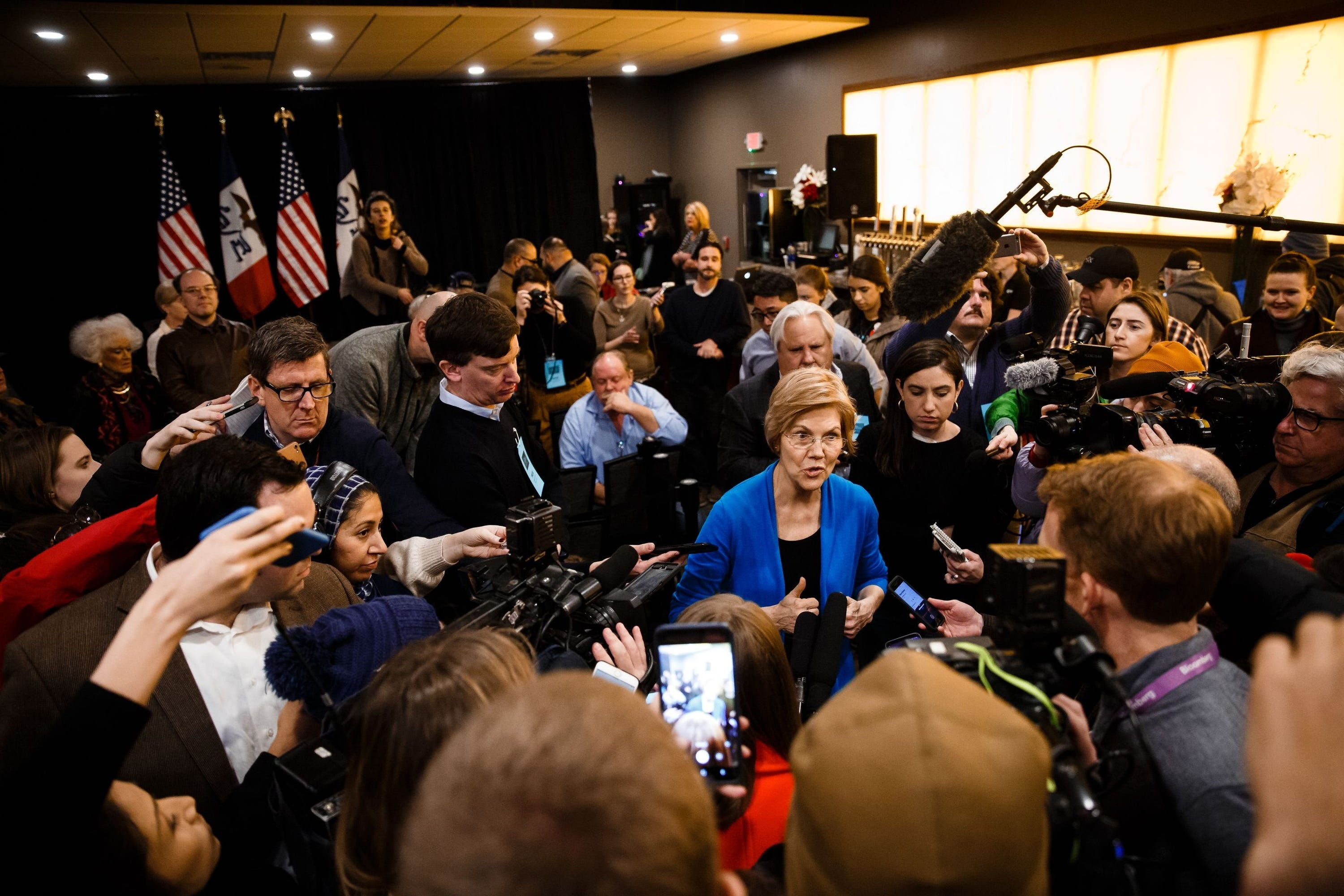 Senator Elizabeth Warren, D-Ma, announced she was running for president on Feb. 9, 2019.