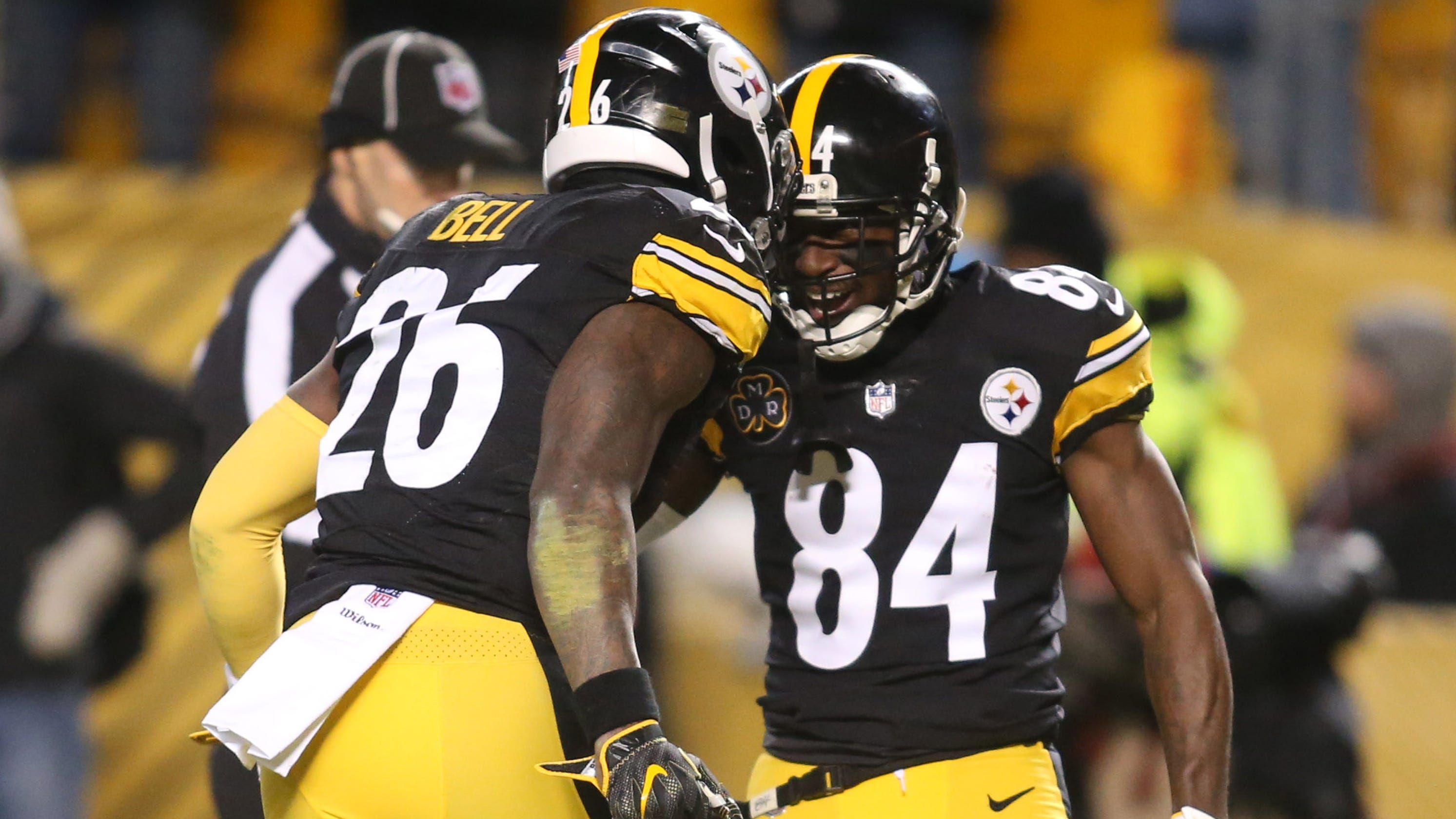 Steelers won t put transition tag on Le Veon Bell or give Antonio Brown  away in a bad trade 4682d51b2