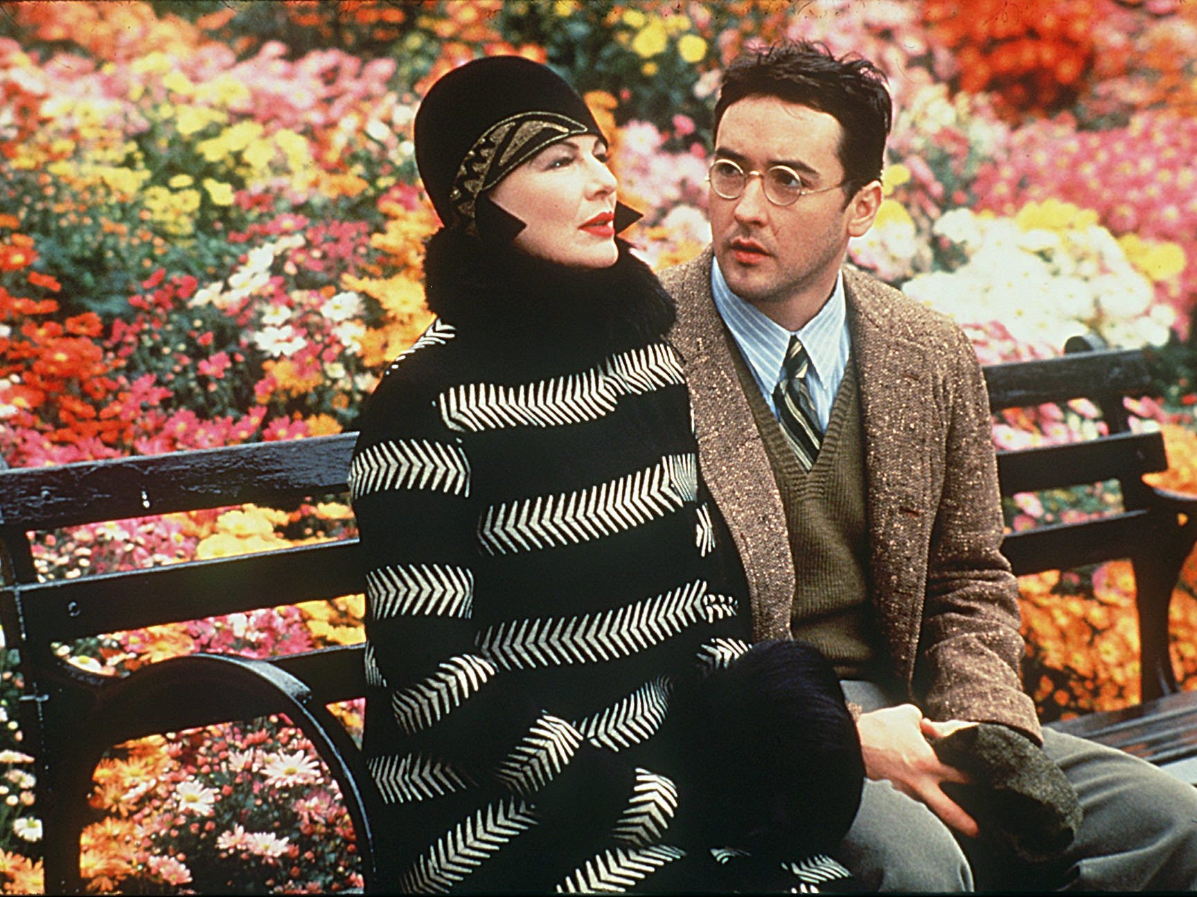 """Dianne Wiest and John Cusack in """"Bullets Over Broadway"""""""