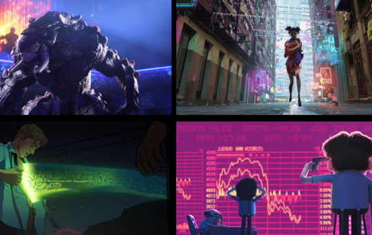 "Animated anthology ""Love, Death & Robots"" is not meant for kids."