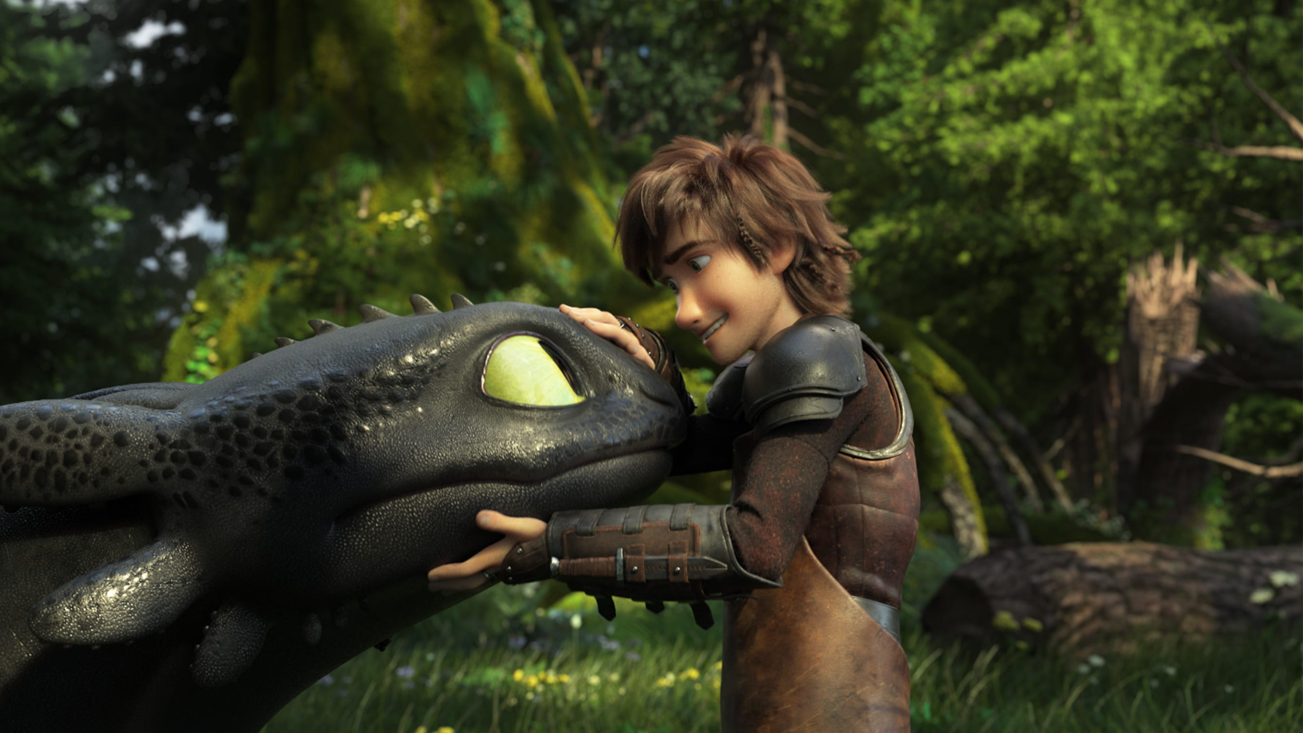 """Toothless and Hiccup (Jay Baruchel) have an unbreakable bond in """"How To Train Your Dragon: The Hidden World."""""""