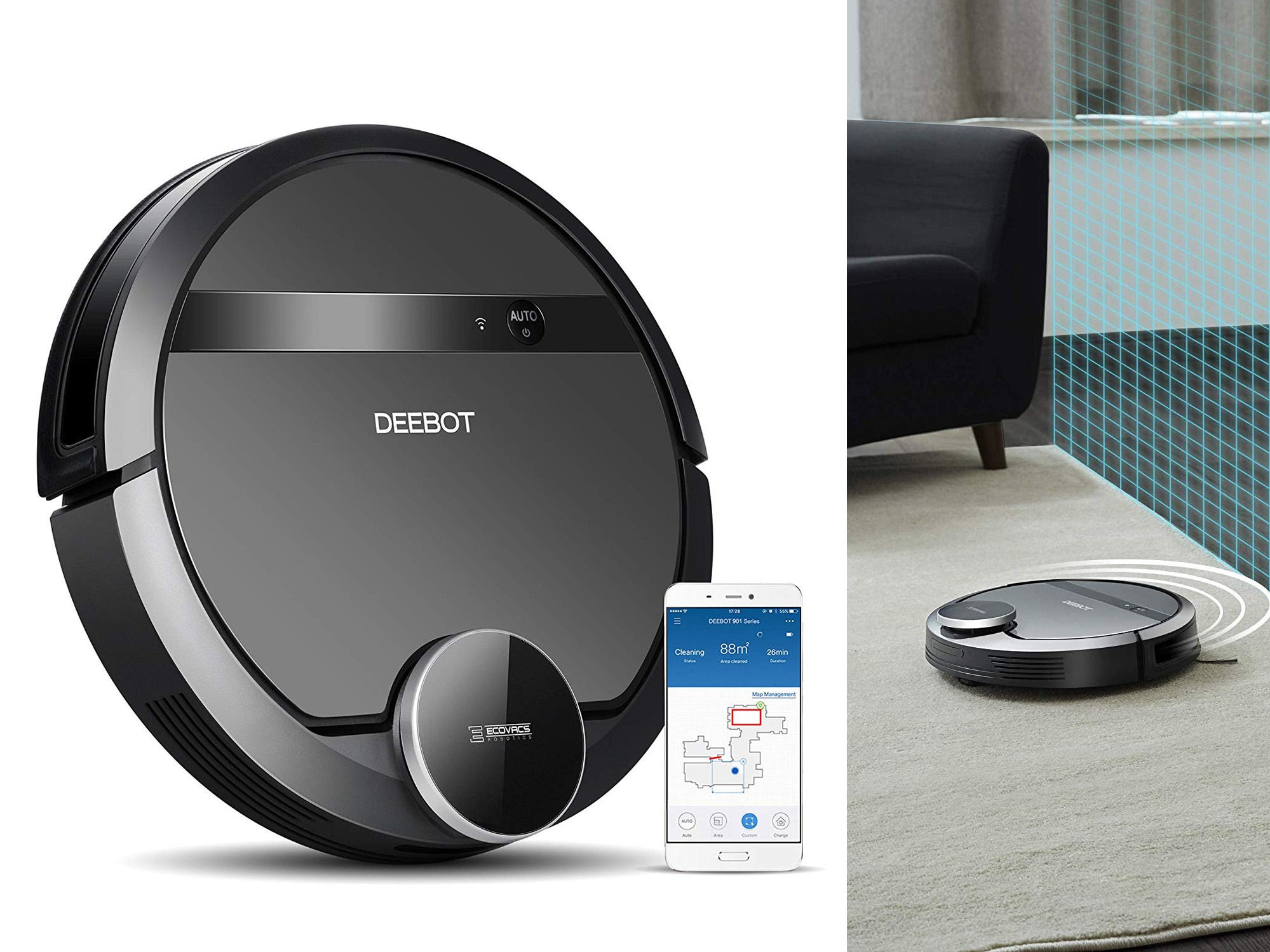 This robot vacuum works with Alexa—and it's an amazing price right now