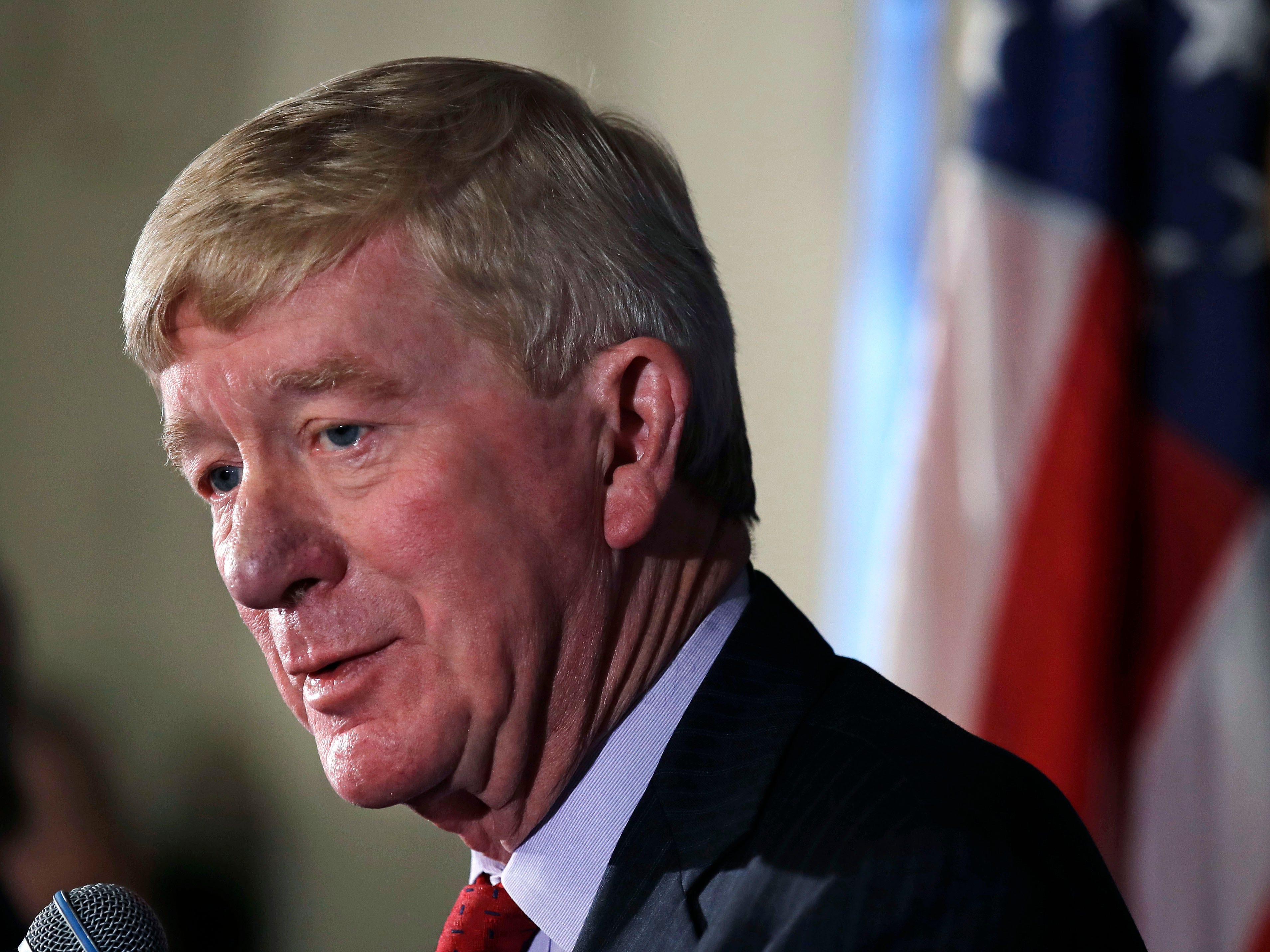 Former Massachusetts Gov. William Weld announced he's creating a presidential exploratory committee for a run in the 2020 election on Feb. 15, 2019 as a Republican.