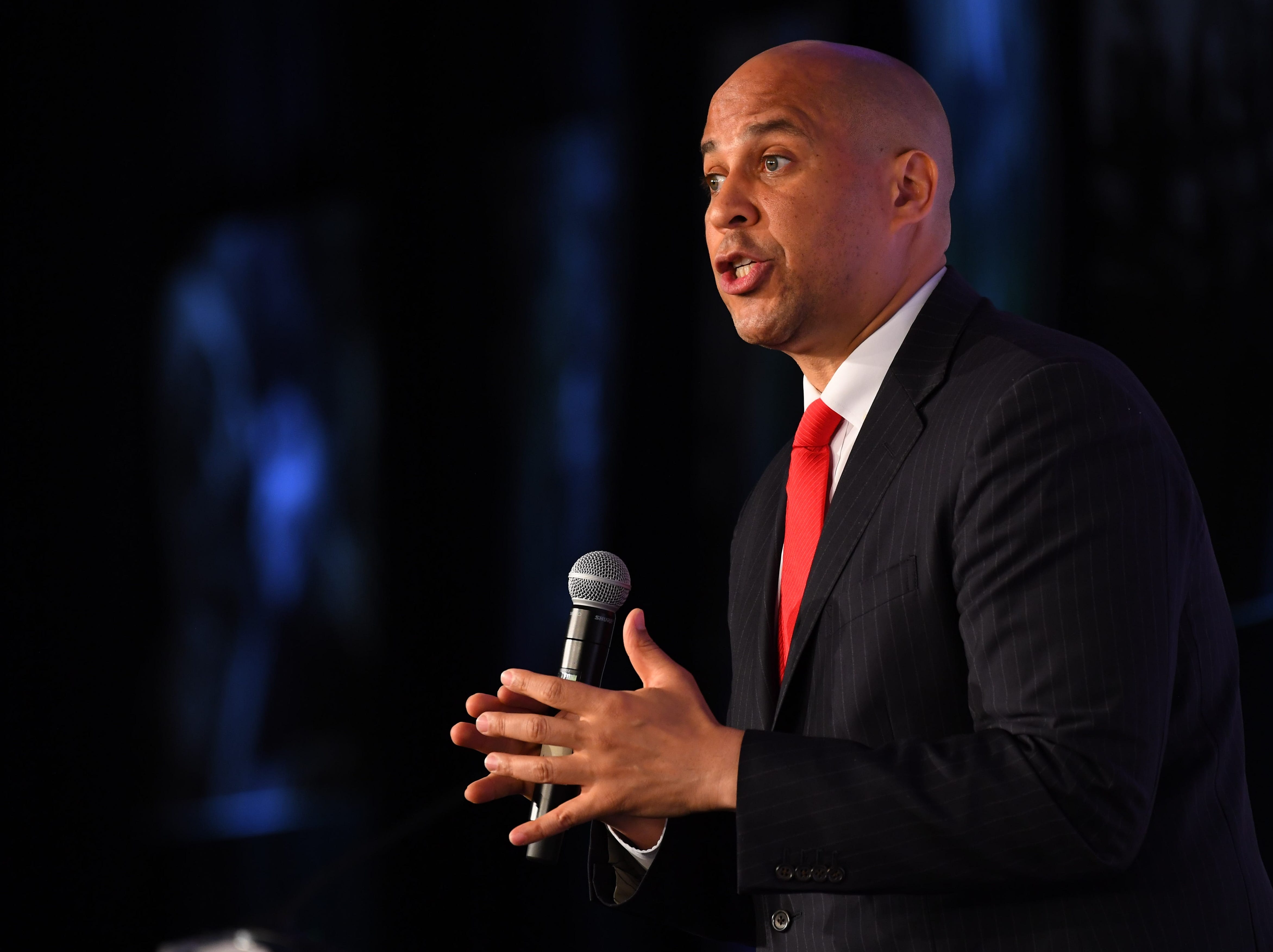 Senator Cory Booker, D-NJ announced he was running for president on Feb. 1, 2019.