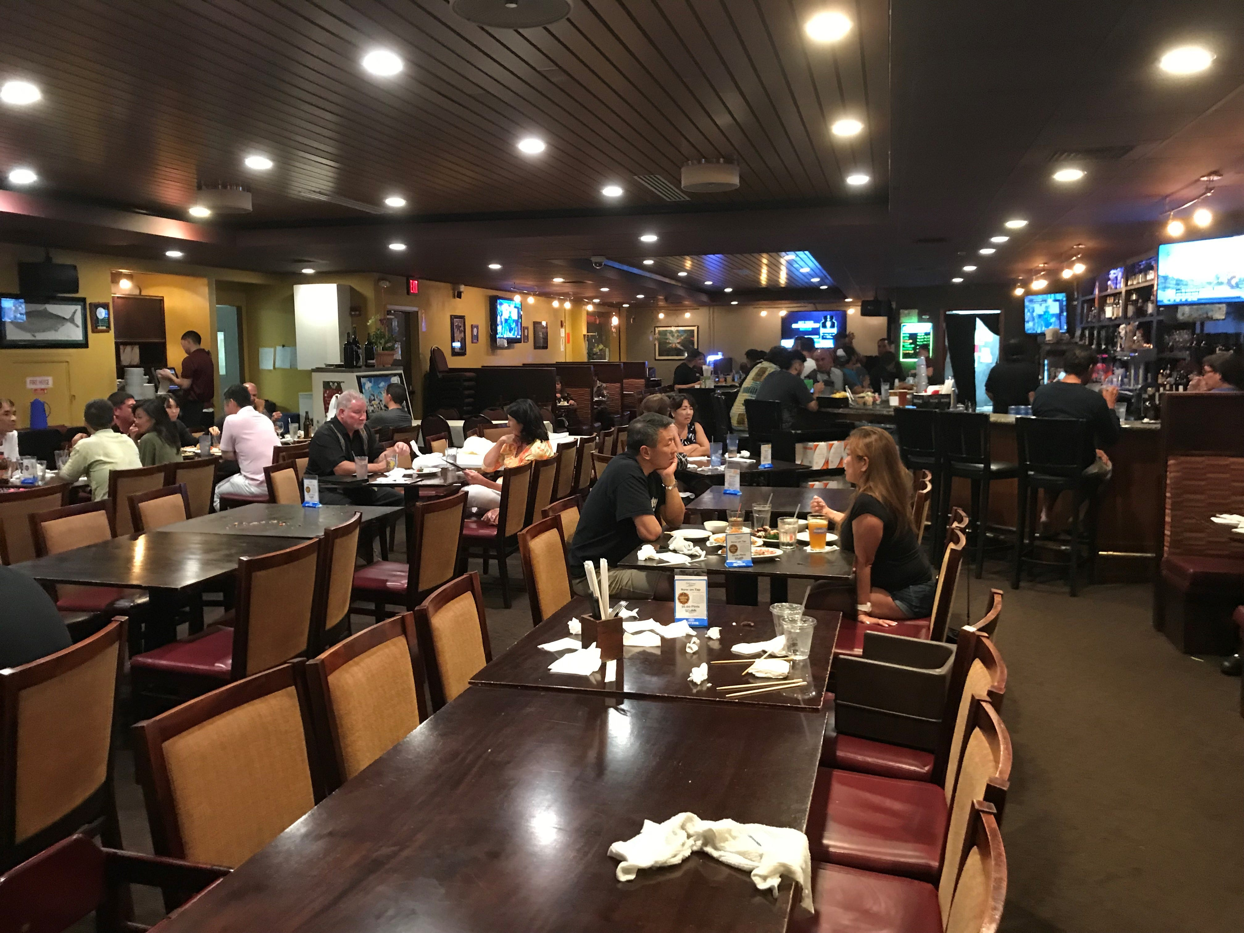 The second location opened in 2010 and is larger and more decoratively finished than the original. It seats close to 200.