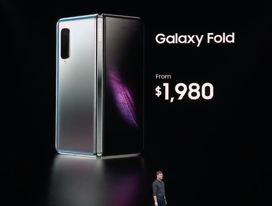 Image result for galaxy fold
