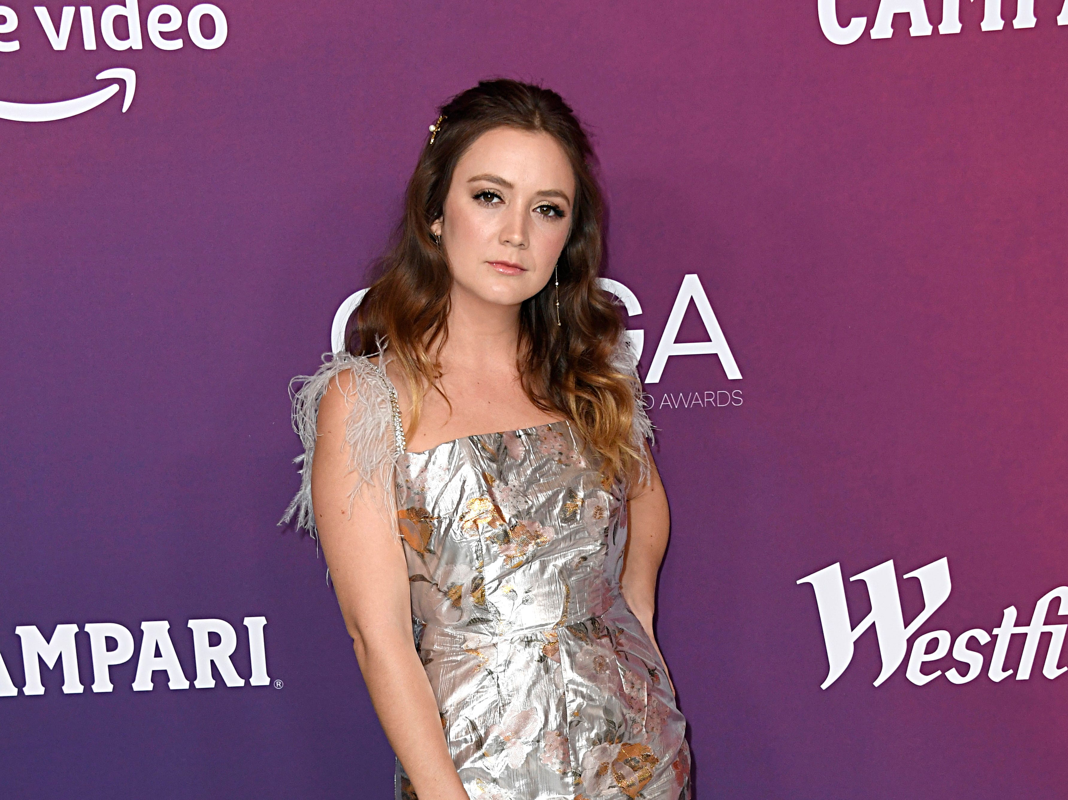 BEVERLY HILLS, CALIFORNIA - FEBRUARY 19: Billie Lourd attends The 21st CDGA (Costume Designers Guild Awards) at The Beverly Hilton Hotel on February 19, 2019 in Beverly Hills, California. (Photo by Frazer Harrison/Getty Images) ORG XMIT: 775282683 ORIG FILE ID: 1130828248