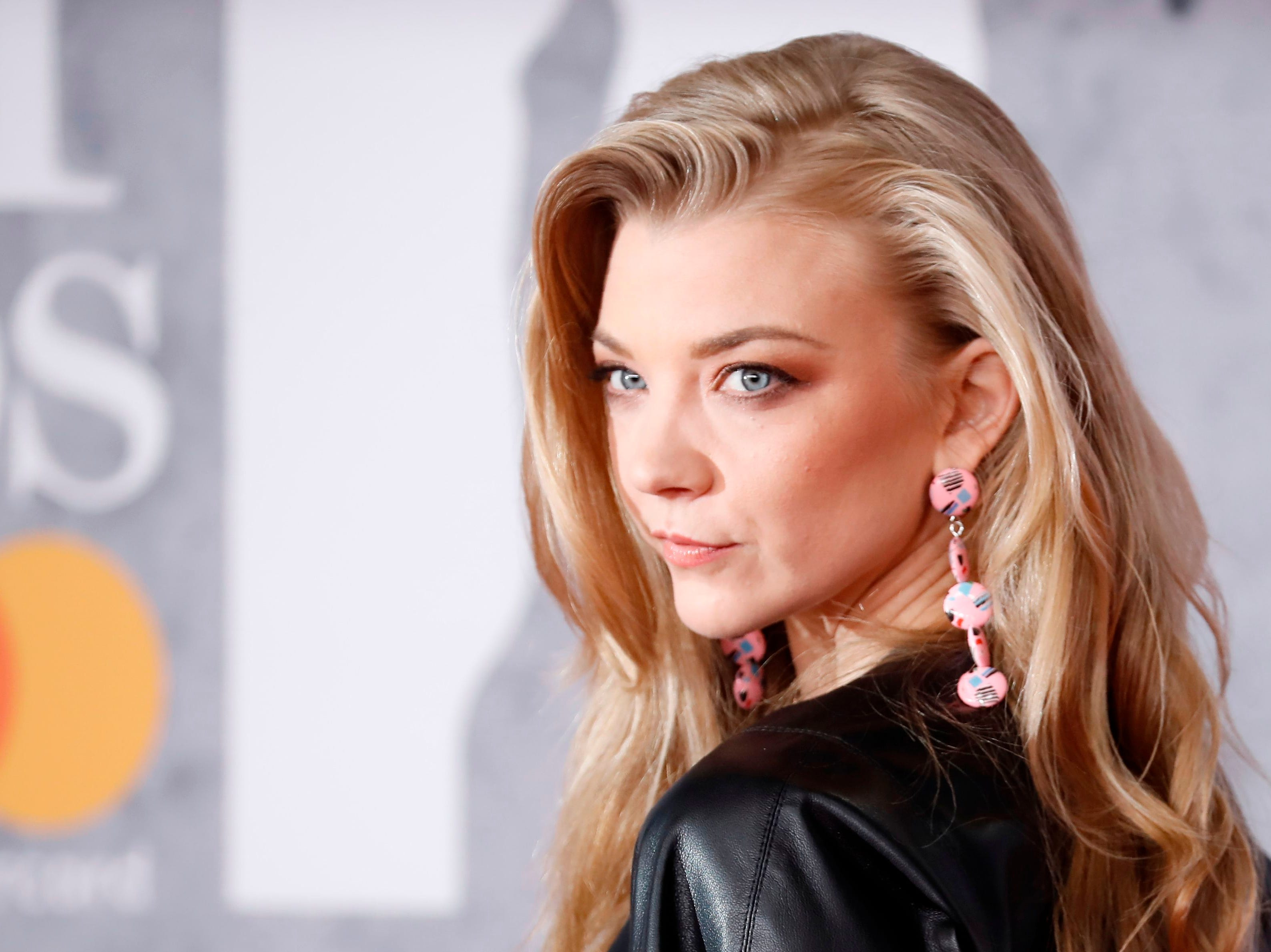 British actor Natalie Dormer reacts on the red carpet on arrival for the BRIT Awards 2019 in London on February 20, 2019. (Photo by Tolga AKMEN / AFP) / RESTRICTED TO EDITORIAL USE  NO POSTERS  NO MERCHANDISE NO USE IN PUBLICATIONS DEVOTED TO ARTISTSTOLGA AKMEN/AFP/Getty Images ORIG FILE ID: AFP_1DO25K