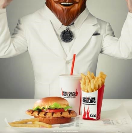 Burger King trolls KFC's Colonel Sanders with new grilled chicken sandwich – the K.F.G.
