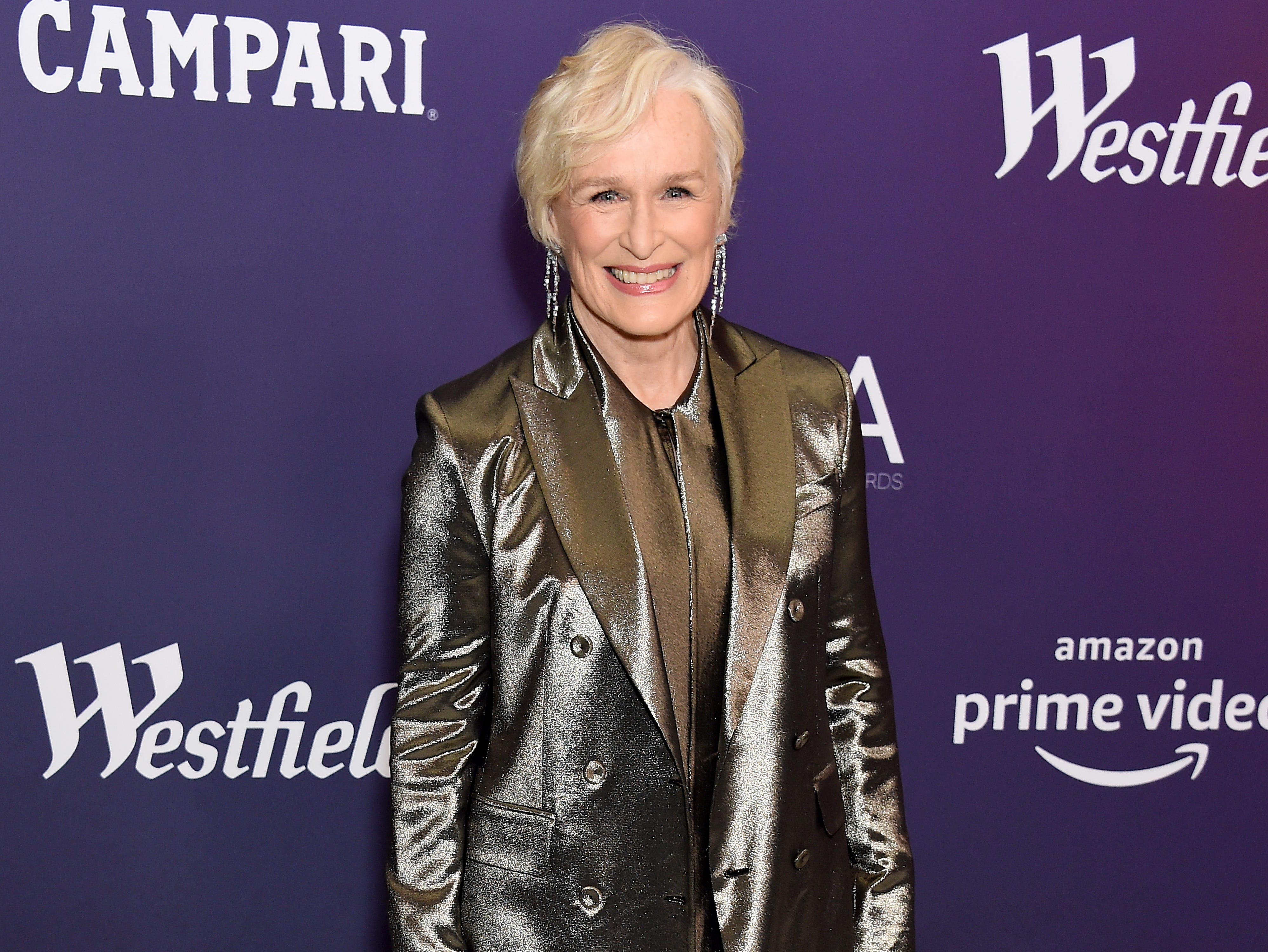 BEVERLY HILLS, CALIFORNIA - FEBRUARY 19: Glenn Close attends The 21st CDGA (Costume Designers Guild Awards) at The Beverly Hilton Hotel on February 19, 2019 in Beverly Hills, California. (Photo by Gregg DeGuire/WireImage) ORG XMIT: 775282683 ORIG FILE ID: 1130829063