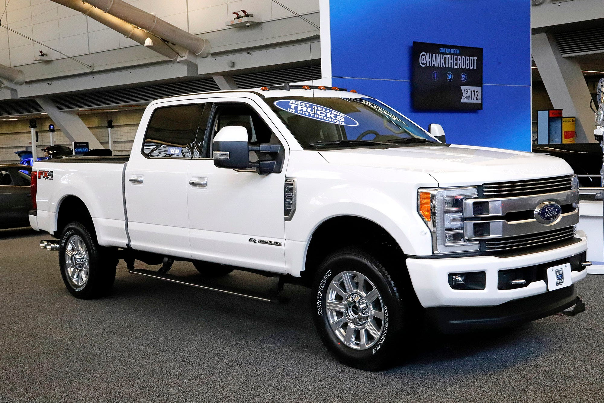 FULL-SIZED PICKUP TRUCK: Ford F-150