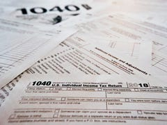What was the average tax refund this year?