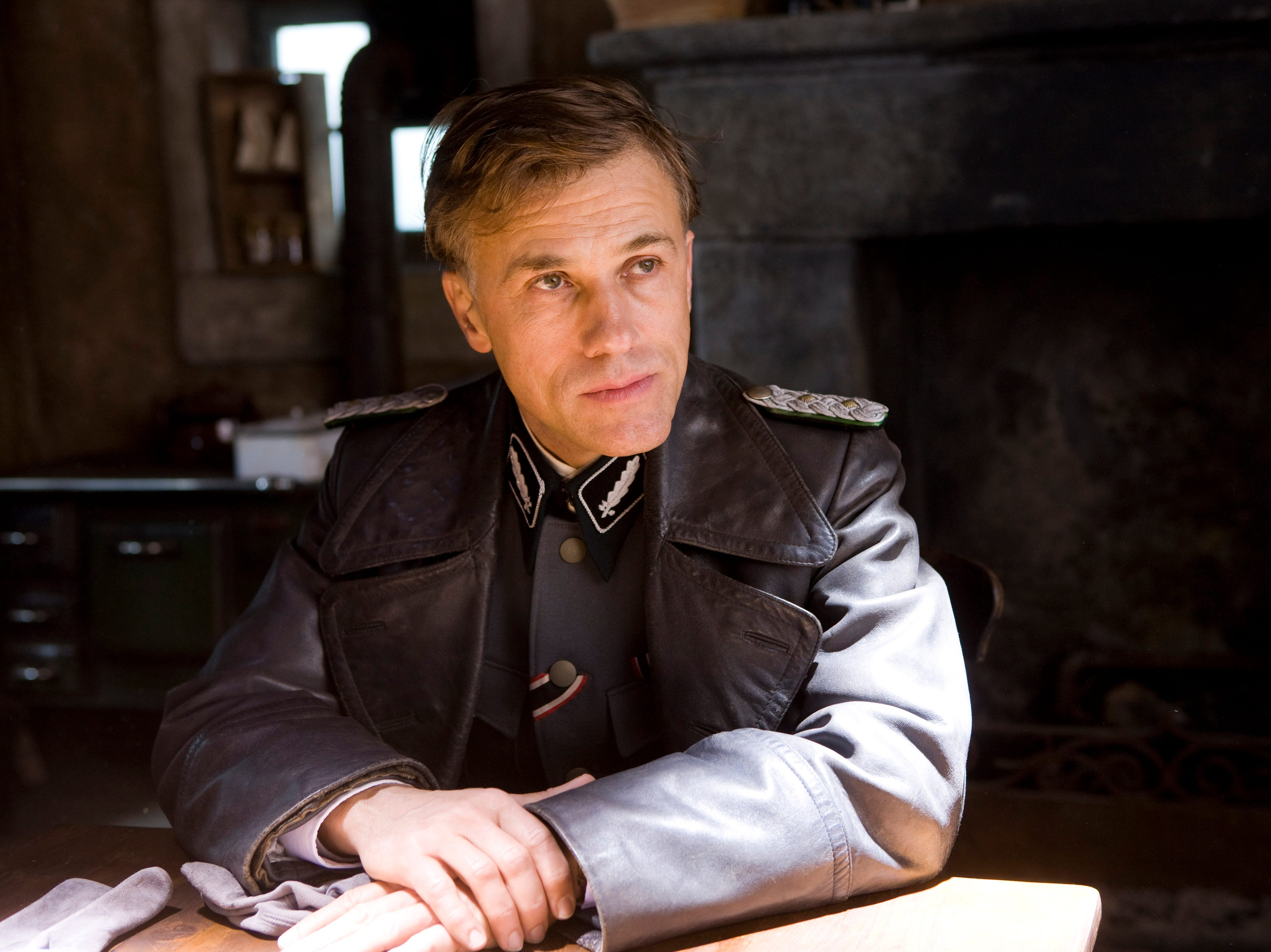"""Christoph Waltz in a scene from the motion picture """"Inglourious Basterds."""""""