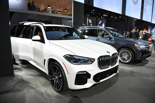 LUXURY SUV: BMW X5