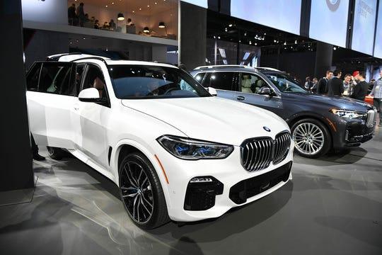 LUXURY SUV: BMW X5