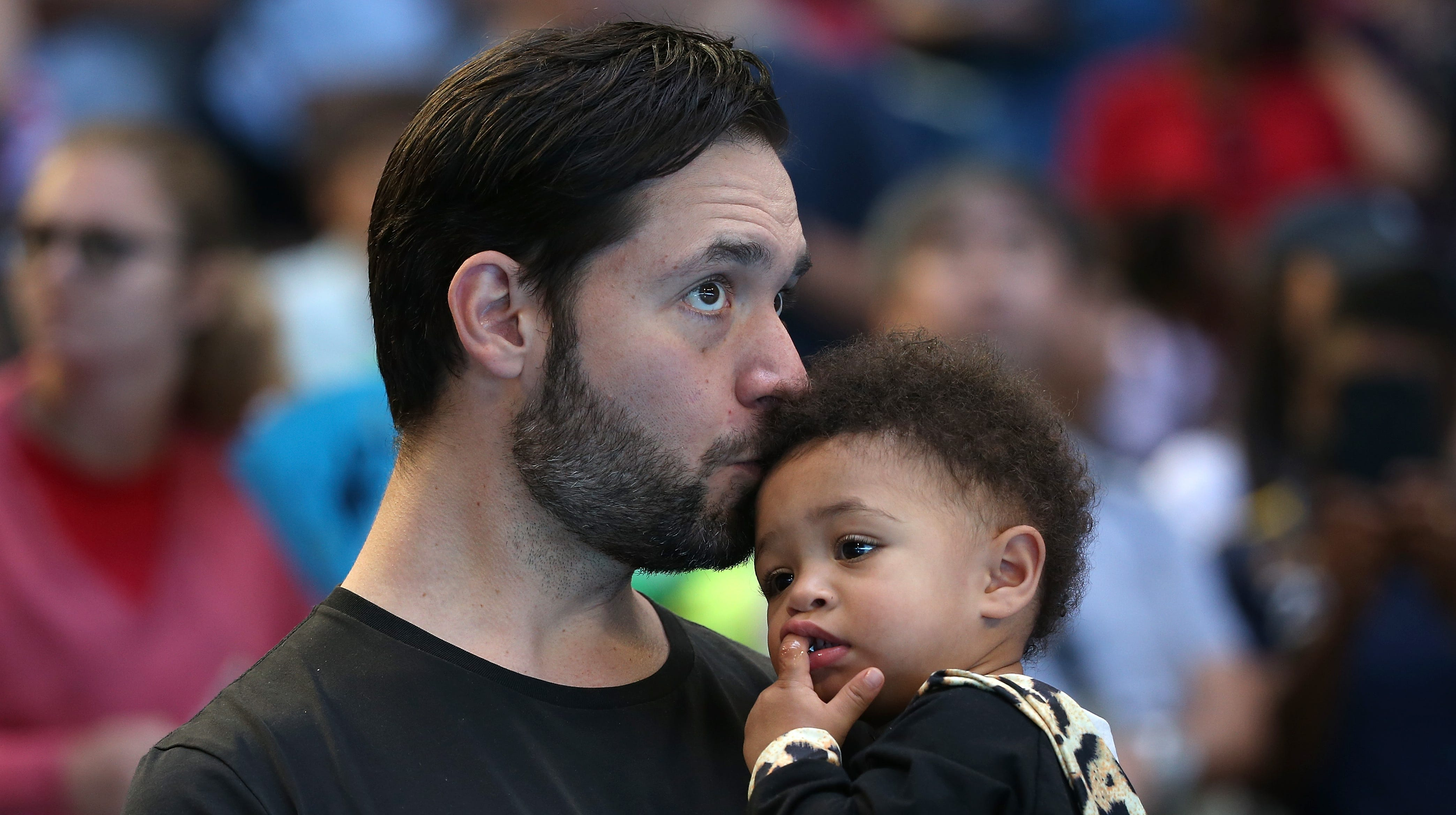 Alexis Ohanian took 16 weeks parental leave to 'show up' for Serena Williams and Olympia