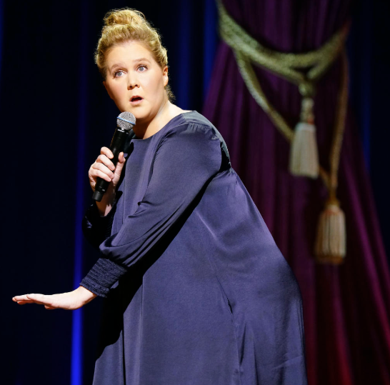 """Amy Schumer talks about marriage and pregnancy in stand-up special """"Growing."""""""