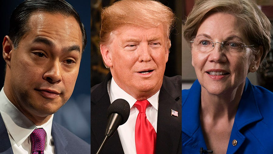 Castro twin mix-up and pardoning drug felons: 5 takeaways from 2020 candidates in She the People forum