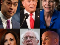 Besides blasting Trump, Democratic presidential candidates offer few details on immigration plans so far
