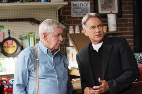 """The lessons imparted by actor Mark Harmon's late father could have easily been dropped into his """"NCIS"""" character's list of rules or a conversation with his father (played by Ralph Waites)."""