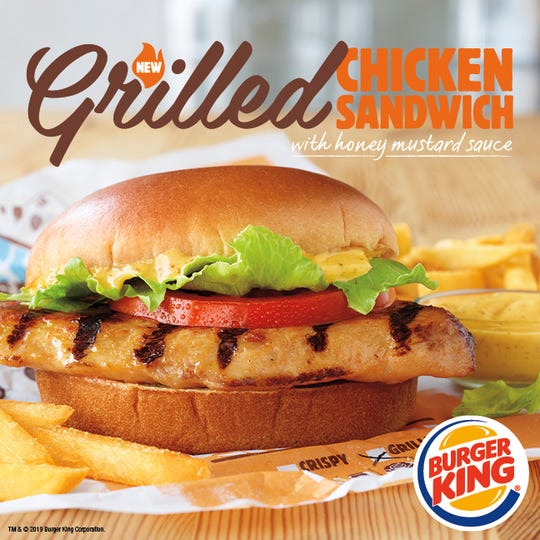 Burger King's new grilled chicken sandwich is a permanent menu item.