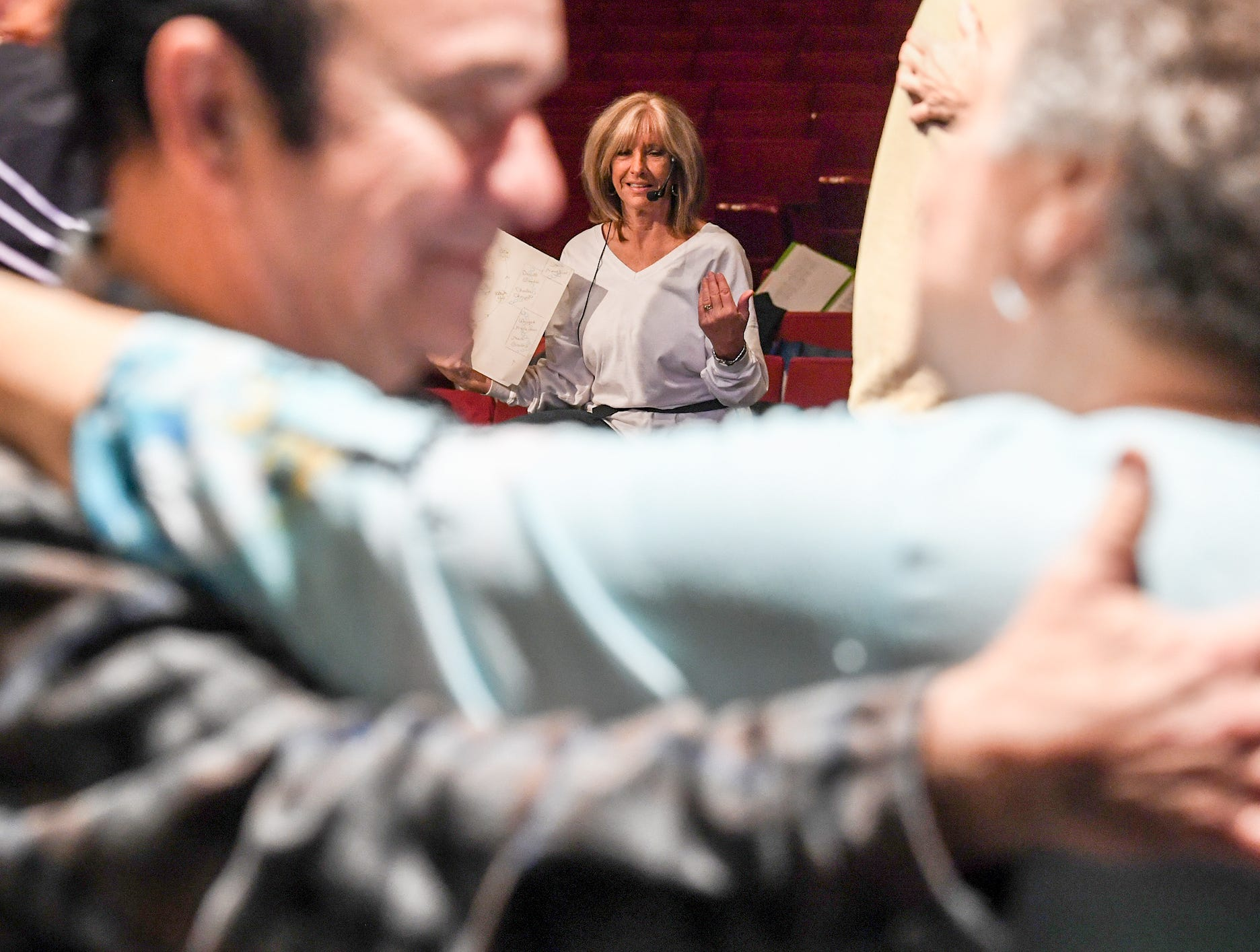 "Annette Martin directs Anderson Senior Follies, in their 30th year at the Anderson University Fine Arts Center's Henderson Auditorium in February. The show, a song, dance, and comedy performance named ""A Class Act""  is led by retiring director Martin and incoming director Mary Nickles. Martin said the show is a whimsical look at being a senior, with vintage, patriotic, and classy people."