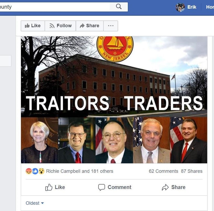 NJ: Facebook should review page targeting Orthodox Jews in Lakewood