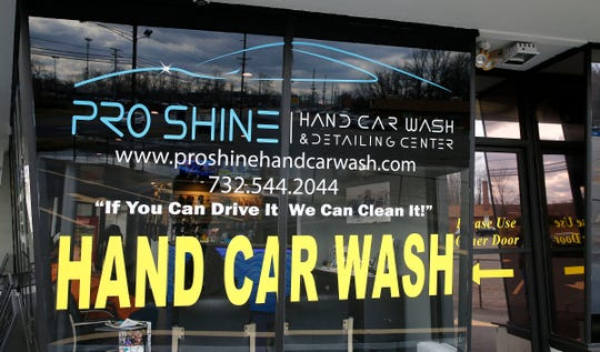 Exterior of ProShine Hand Car Wash and Detail Center in Eatontown Monday, February 18, 2019.