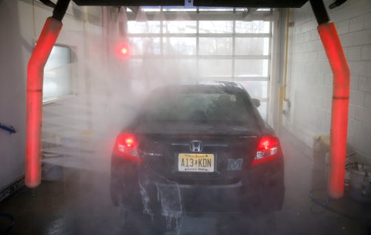 New Jersey ranked fourth in the U.S. in the number of car washes per capita.