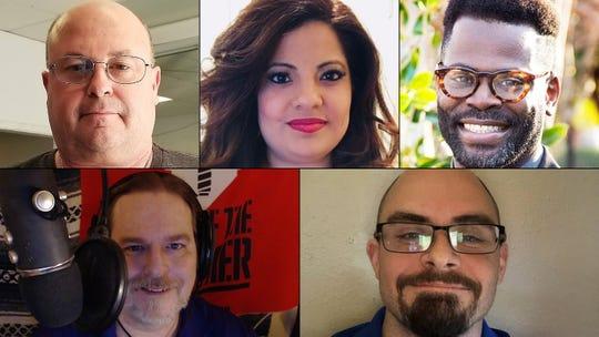 Charles Byrn, Jessica Cantu, Travis Craver, Ron Konstantin and David Turvaville