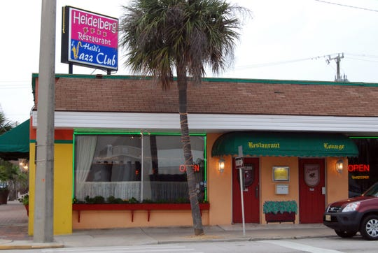 Heidi's Jazz Club is located at the intersection of A1A and Minutemen Causeway in Cocoa Beach.