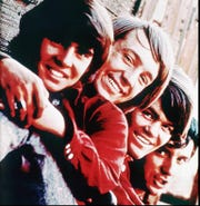 My childhood Saturdays were spent in the company of the Monkees, from left, Davy Jones, Peter Tork,Mickey Dolenz, Michael Nesmith.