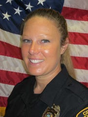 Titusville Officer Jamie Arias was off-duty when she witnessed a crash on U.S. 1 Thursday. She jumped in to render aid while awaiting medical personnel. She has been with the department since November.