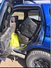 U.S. Border Patrol agents seized more than 45 pounds of methamphetamine at the Falfurrias checkpoint on Wednesday, Feb. 20, 2019.