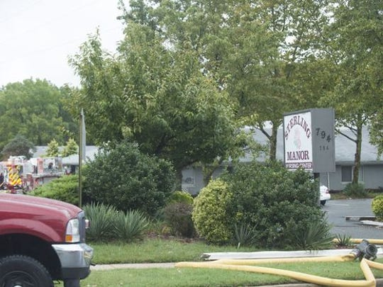 Sterling Manor Nursing Center had an evacuation on Wednesday due to a fire. No injuries were reported.