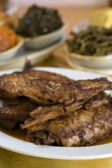 Cajun Turkey Wings are a perennial favorite at Corrine's Place.