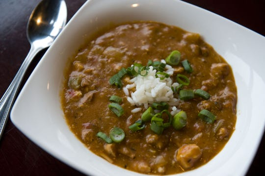 Louisiana Chicken Gumbo is a hearty meal at Iron Hill.