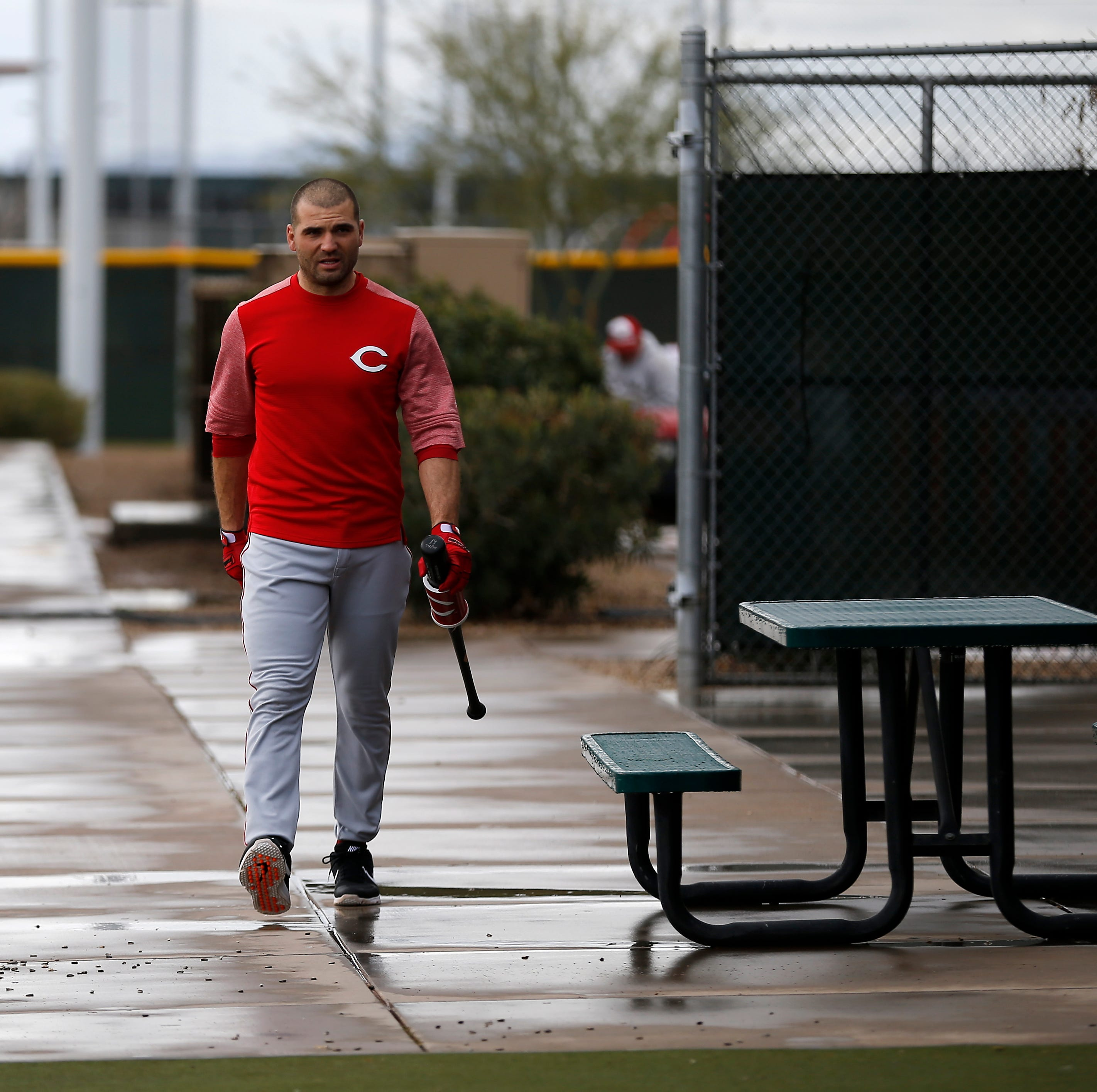 Spring Training report: Takeaways from the Cincinnati Reds' rainy workout