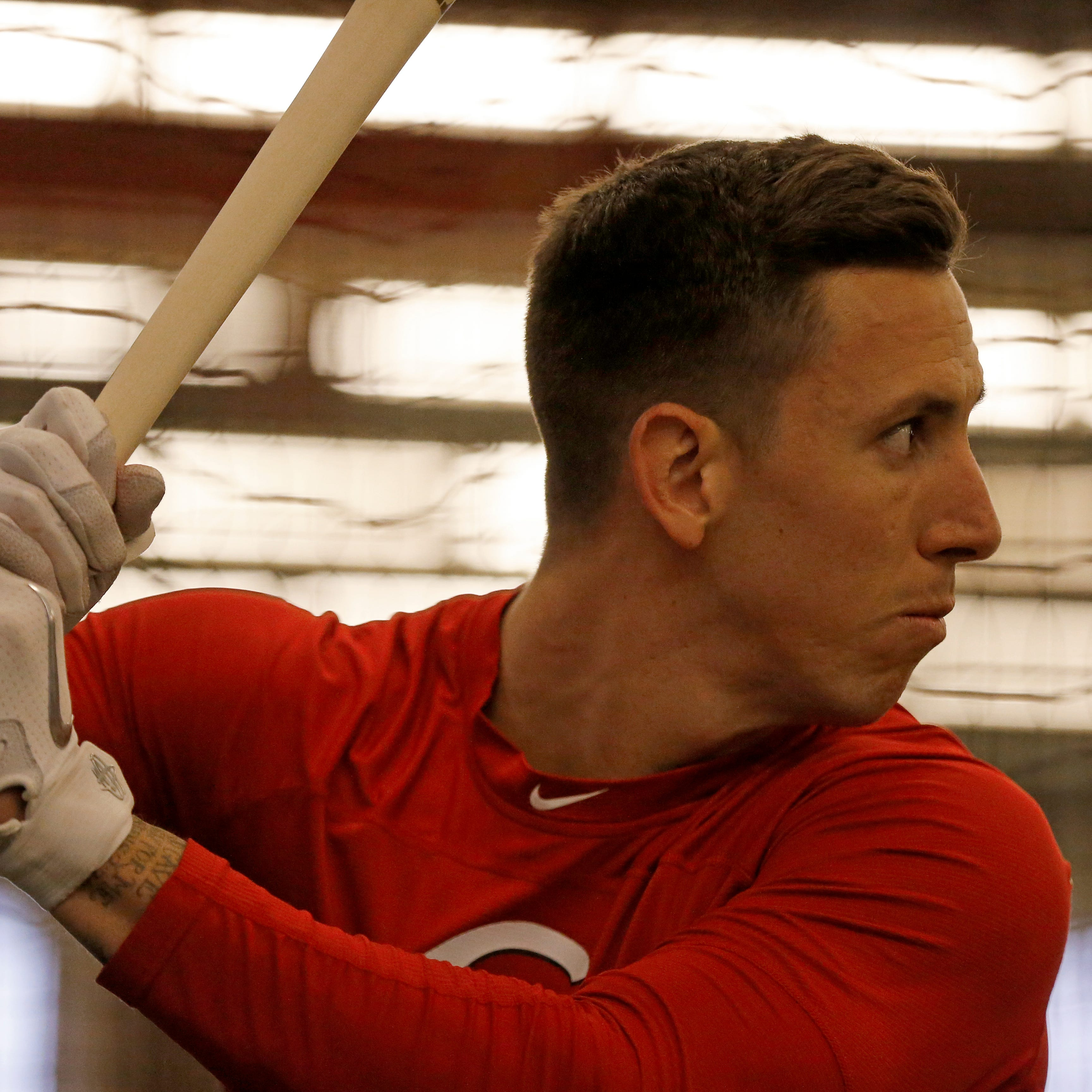 Cincinnati Reds pitcher Michael Lorenzen moving closer to playing center field in games