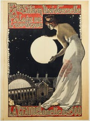 Georges Leroux's poster promoting the Palace of Optics and the Great Telescope of 1900 is part of the collection of the Musée Carnavalet, Paris.