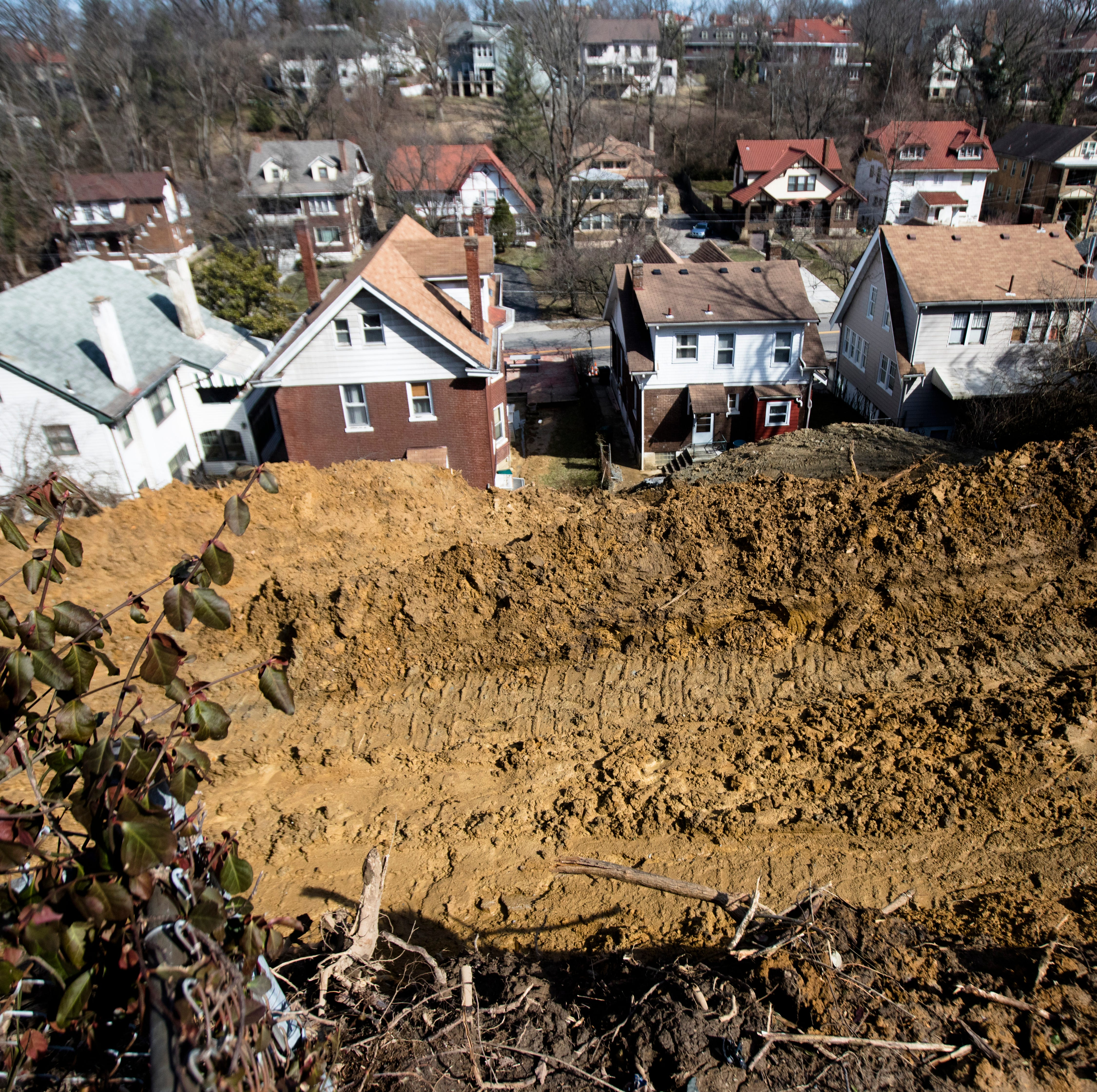 'It's like someone put a bomb in your yard.' Landslides in Greater Cincinnati are bad. And they'll probably get worse.