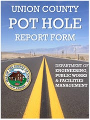 The Union County Board of Chosen Freeholders would like you to know there are resources you can use to report potholesto the proper agency.