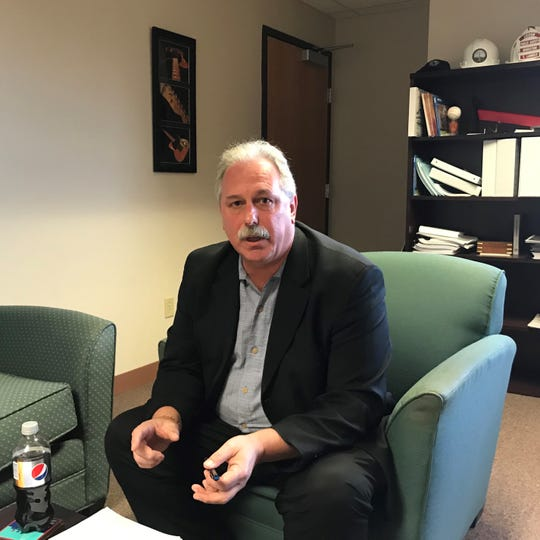 Edison Mayor Thomas Lankey discusses an $800 million deal with Suez Water, $100 millon of which would would improve the township's sewer and water systems, as well as its parks, finance the construction of a $40 million community and create a financial reserve to stabilize property taxes.
