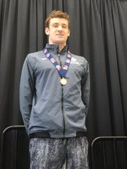 Nick Chase, All-Iowa Boys Swimming