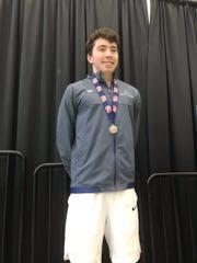 Kevin Burke, All-Iowa Swimming