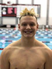 Izaak Hajek, All-Iowa Swimming
