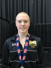 Charlie Bunn, All-Iowa Swimming